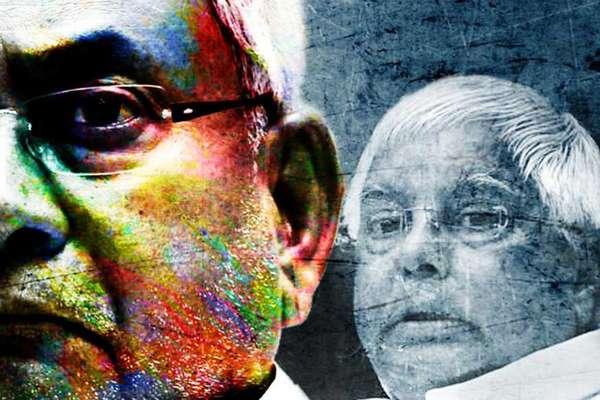 ये वही NITISHहैं जिन्होंने संघमुक्त भारत के लिये हाथ मिलाया था: LALU YADAV