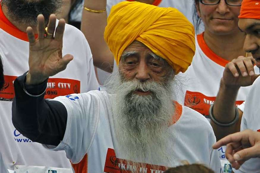 फौजा सिंह ने 101 साल की उम्र में लिया संन्यास