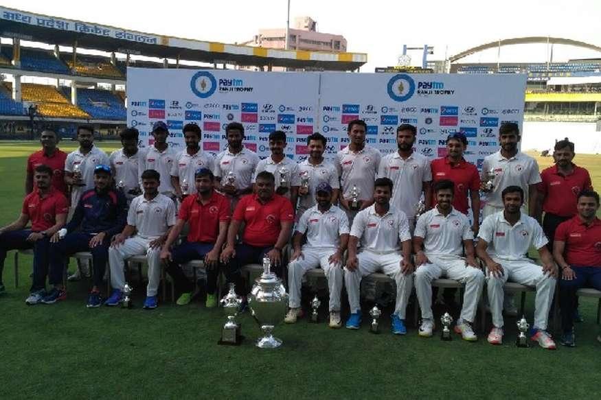 गुजरात पहली बार रणजी ट्रॉफी चैंपियन, मुंबई को पांच विकेट से हराया