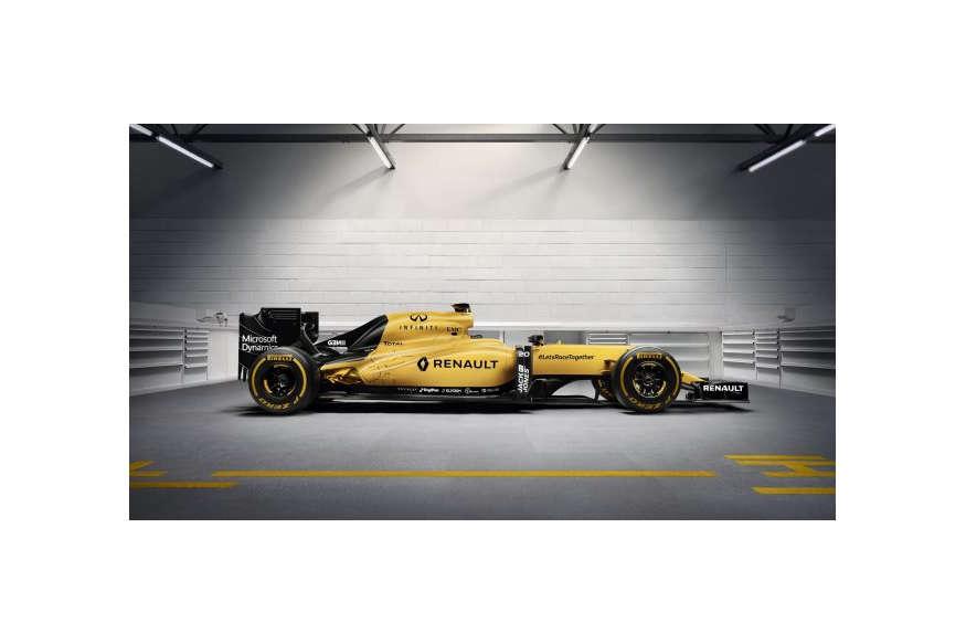 रेनो ने लांच की नई फॉर्मूला-1 कार
