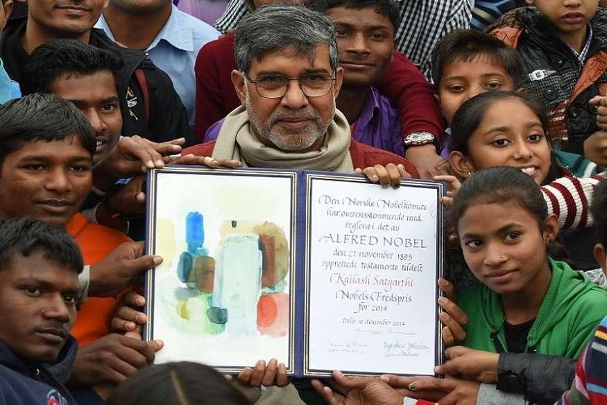 कैलाश सत्यार्थी के घर चोरी, नकद-जेवर के साथ नोबेल पुरस्कार भी ले उड़े चोर