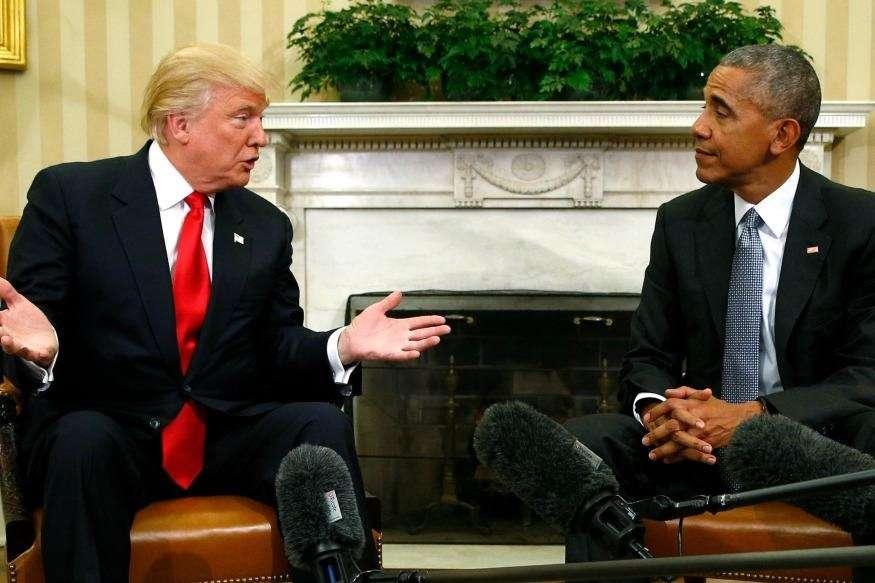 ओबामा की चेतावनी को ट्रंप ने किया नजरअंदाज, ईरान परमाणु समझौते पर फिर दिया बयान
