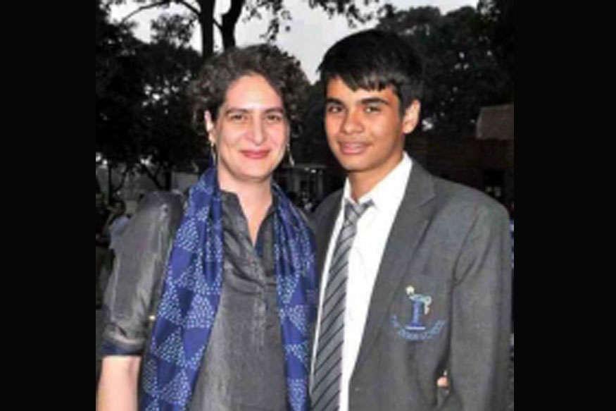 हैदराबाद में हुआ प्रियंका गांधी के बेटे की आंखों का इलाज