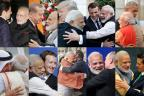 The Modi Hug: Narendra Modi's style of greeting global leaders
