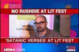 'The Satanic Verses' read at Jaipur Literature Fest
