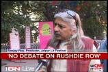Rushdie row: authors protest, organisers defend