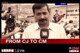 CJ to CM: Arvind Kejriwal's Journey