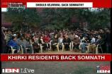Watch: Khirki Extension residents defend Somnath Bharti raid