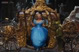 'Cinderella' review: Kenneth Branagh delivers a full carnival-style orgy of colorful gowns, pirouetting princesses