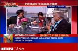 Discussing business opportunities as PM Modi travels to Canada