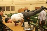 Canadian PM Justin Trudeau's yoga photo is breaking the internet