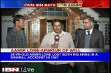 Twin cheer for J&K para-cricketer Aamir Lone
