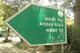 Political Slugfest Over Renaming Akbar Road Continues
