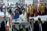 PM Narendra Modi Welcomes Japan's Shinzo Abe in Ahmedabad