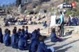 No School Building in Tehri Garhwal School