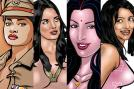 But Savita Bhabhi soon made a comeback, along with a new generation of other Indian comic porn stars, on Kirtu.com.