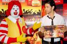 Hrithik Roshan who's awaiting the release of his film 'Agneepath' has tied up with Mc Donalds for promotions.