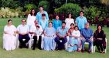 The Daggubati Ramanaidu family is seen in this file photo.