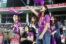 The Royal Bengal tigers team cheered on.