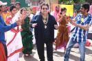 Bengali actor Prosenjit was seen dancing with with Bappi Lahiri during the shooting of the song 'Ulte Debo Paalte Debo'.