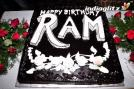 The birthday party was attended by Ram's close friends and family members.