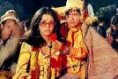 Bollywood actor and filmmaker Dev Anand who passed away last year, played mentor to many Bollywood actors. Under his guidance, Zeenat Aman got the first hit of her career 'Hare Rama Hare Krishna'.