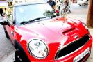 Not every child is as lucky as Aaradhya who has got a swanky red and black Mini Cooper for her first birthday.