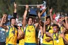 Australia overcame their disappointing Olympics campaign with their fifth consecutive Champions Trophy trophy, beating Netherlands in the final via golden goal on December 9 in Melbourne, Australia.