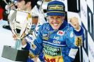 Schumacher won the first Drivers' Championship in 1994. (Getty Images)