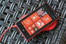 The Lumia 920 has a 4.5-inch display, 1GB RAM, and 32 GB mass memory.