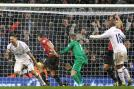 Clint Dempsey scored a dramatic equaliser in added time as Tottenham held Manchester United to a 1-1 draw at White Hart Lane.