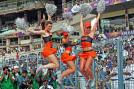 Cheer leaders during IPL-6 T20 match  between KKR and Sunrisers Hyderabad at Eden Garden in Kolkata.