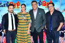 Vir Das, Neha Dhoopia, Boman Irani get clicked while promoting their upcoming film 'Santa Banta Pvt Ltd'.