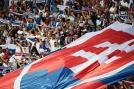 Slovakia fans came out in big numbers to support their team for the crucial match against England. (Getty Images)