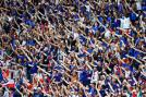 France fans came out in large numbers to show their support for the home team. (Getty Images)