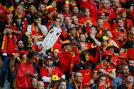 Belgian fans came out in big number to support their team. (Getty Images)