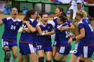 Russia won the women's handball Olympic gold medal on Saturday, beating France 22-10 in the final. Image Credit: Getty Images.