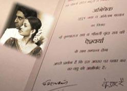 ash_abhi_card_final a look at ash abhi's wedding card news18 videos,Abhishek Bachchan Wedding Invitation Card