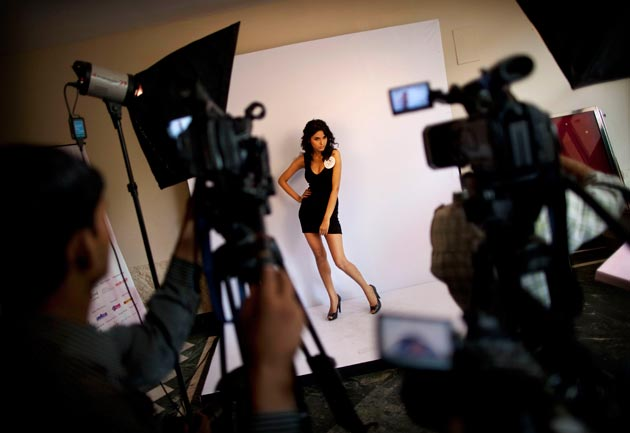 Inside the dressing room: Supermodel of the World - India