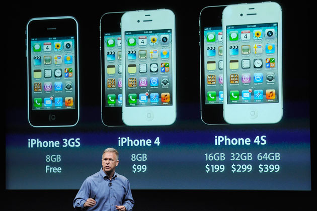 At A Glance The IPhone 4S Vs Older IPhones