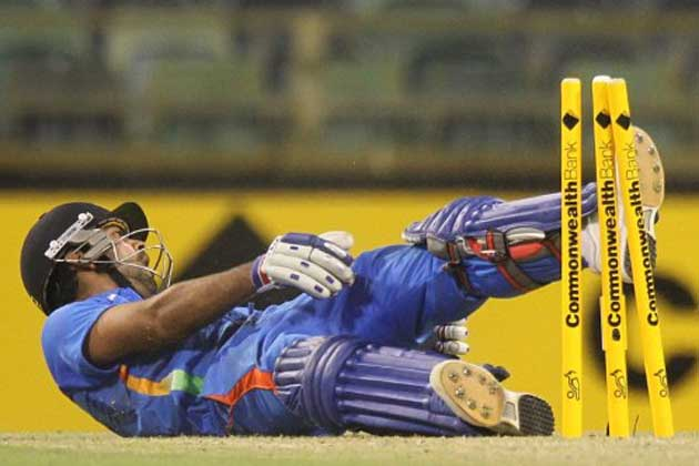 <b>Jaspreet Sahni:</b> Raina's old folly, Dhoni's unnecessary hoick and Kohli's run-out almost cost India a win.