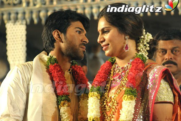Ram Charan Upasna S Wedding Reception For Fans