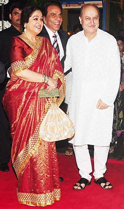 Anupam kher wedding