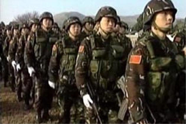 of military drills aim...