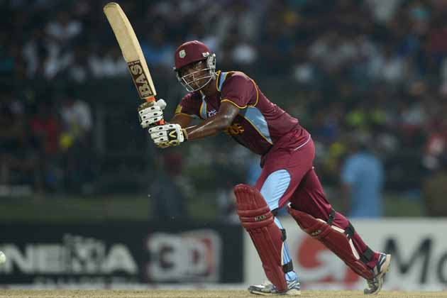 Jonson Charles (84) and Chris Gayle (58) compiled a century stand for the first wicket and set the stage for West Indies to defeat England by 15 runs.