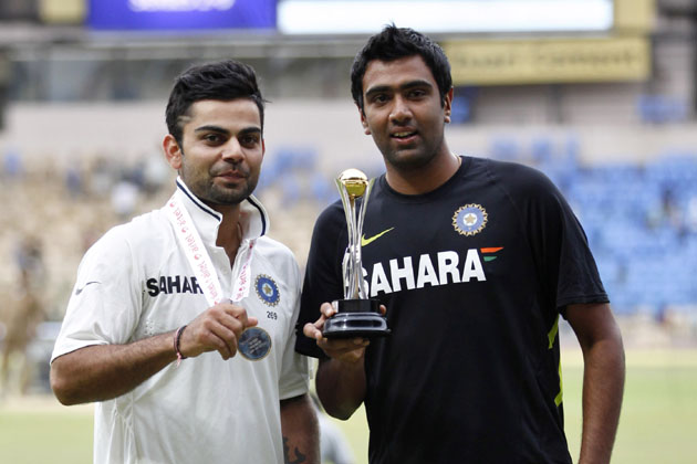 Of the four younger players on whom there was much riding, India's lead spinner and No. 3 batsman emerged from the Test series with their reputations enhanced.