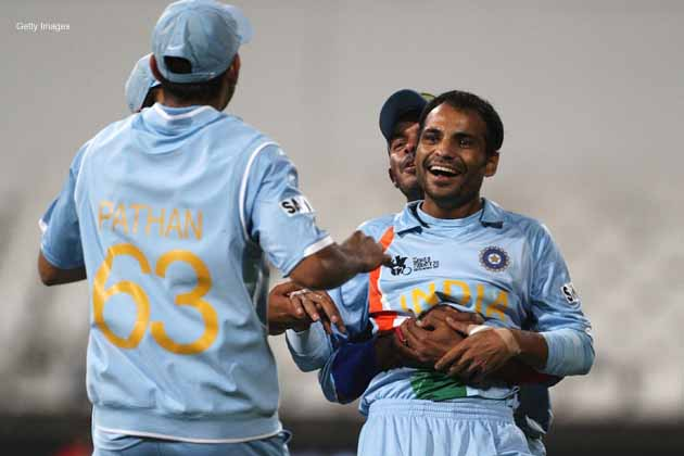 India's unlikely hero of the 2007 World Twenty20 final reminisces about the emotions he felt bowling to Misbah-ul-Haq.