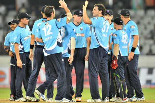 Auckland needed a win to stay in content_cnion for a place in the CLT20 semis but lost by 16 runs, which put Delhi and Titans through to the last-four stage from Group A.