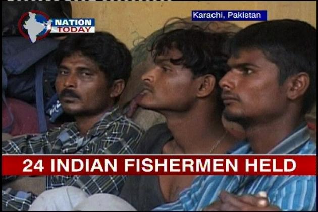 Pakistan Arrested Indian Fishermen Arrest 24 Indian Fishermen