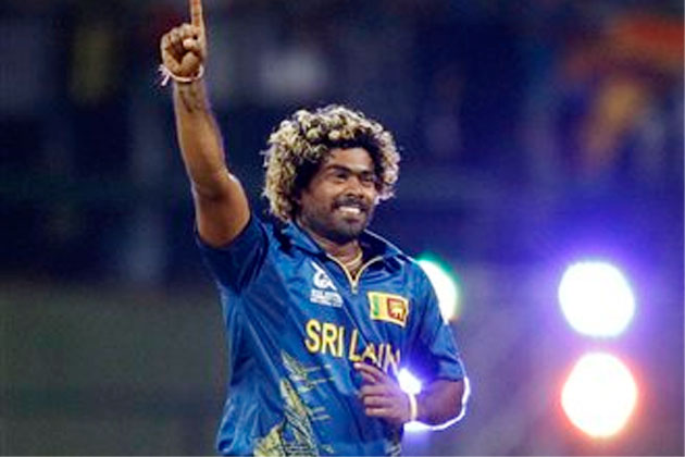 Lasith Malinga's five-wicket haul demolished England batting as they failed to chase the target of 170 against Sri Lanka.